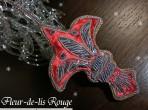 百合の紋章 レッド
