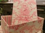 インテリアボックス 中 ピンク