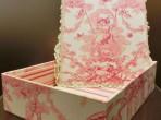 インテリアボックス ピンク