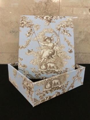インテリアボックス ミニ ブルー